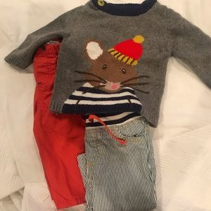 Bundle of Baby Boden Outfit, size 3-6M